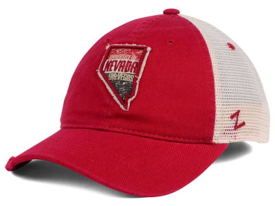 UNLV Runnin Rebels Zephyr Roadtrip Patch Mesh Cap