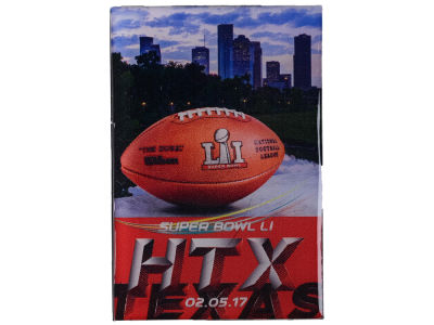 Super Bowl LI Skyline Magnet