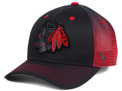Chicago Blackhawks Zephyr NHL Jolt Trucker Cap