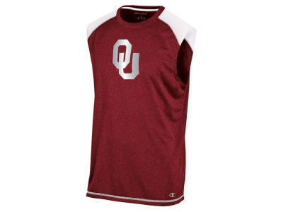 Oklahoma Sooners Champion NCAA Men's Colorblocked Muscle T-Shirt