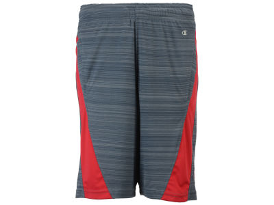 Louisville Cardinals NCAA Men's Boosted Stripe Colorblock Shorts