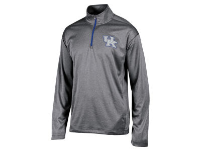 Kentucky Wildcats NCAA Men's Double Knit Mesh 1/4 Zip Pullover