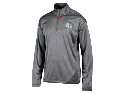 Louisville Cardinals Champion NCAA Men's Double Knit Mesh 1/4 Zip Pullover