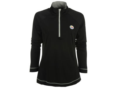 Pittsburgh Steelers Cutter & Buck NFL Women's Evolve Half Zip Pullover
