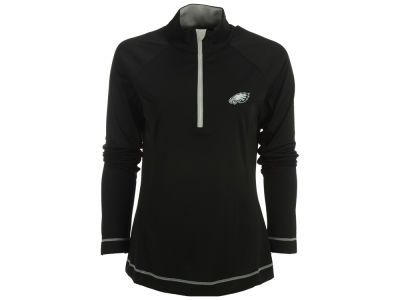 Philadelphia Eagles Cutter & Buck NFL Women's Evolve Half Zip Pullover