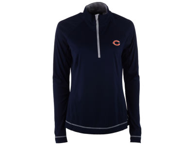 Chicago Bears Cutter & Buck NFL Women's Evolve Half Zip Pullover