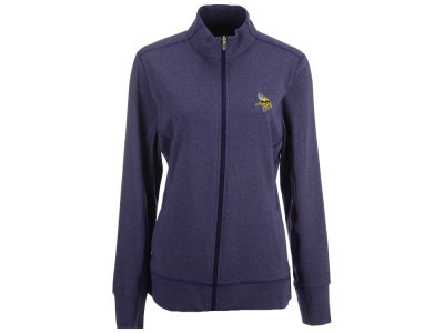 Minnesota Vikings Cutter & Buck NFL Women's Topspin Full Zip Jacket