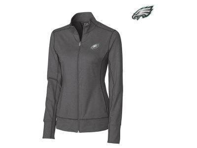 Philadelphia Eagles Cutter & Buck NFL Women's Topspin Full Zip Jacket