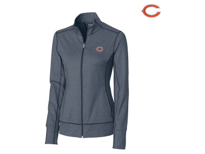 Chicago Bears Cutter & Buck NFL Women's Topspin Full Zip Jacket
