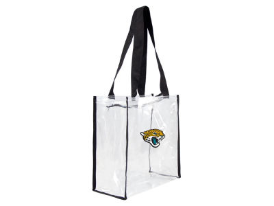 Jacksonville Jaguars Memory Company Clear Square Zip Tote