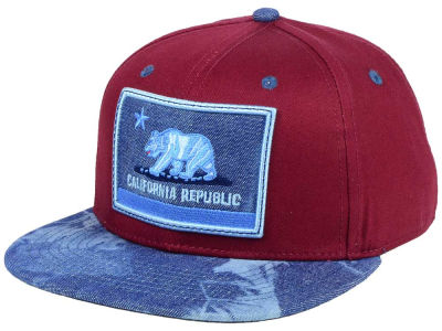 Official Cali Burg Denim Strapback Cap