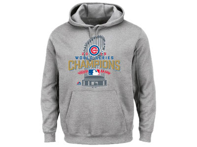 Chicago Cubs Majestic MLB Men's 2016 World Series Champs Locker Room Hoodie