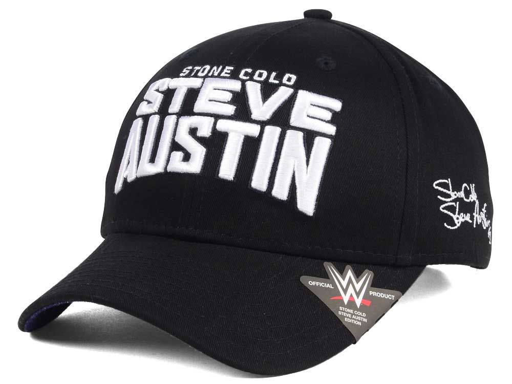 low priced 8073c b3a16 ... norway wwe stone cold curved snapback cap f54bf a7063