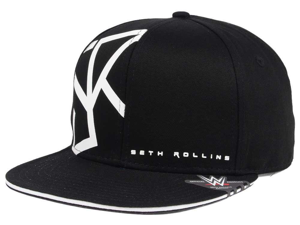 WWE Seth Rollins Curved Snapback Cap  bfe3015b11a