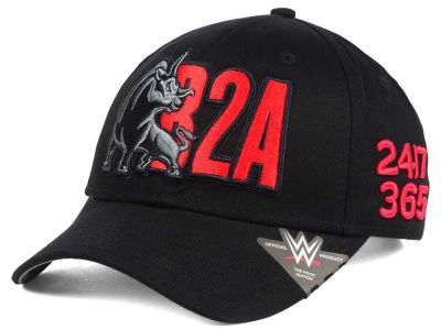 WWE The Rock B2A Curved Snapback Cap