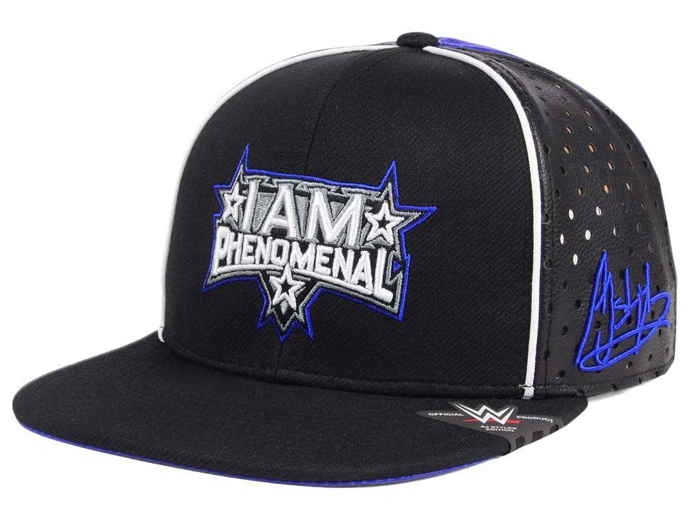 WWE AJ Styles I Am Phenominal Snapback Cap  ff3343bae3c