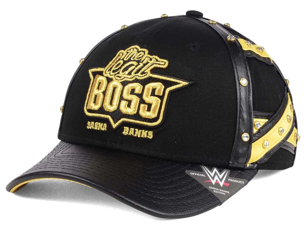 buy online e795b d716e ... where to buy wwe sasha banks legit boss curved snapback cap 3d880 82217