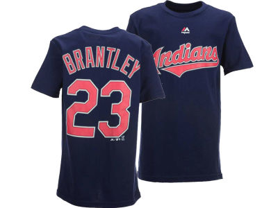 Cleveland Indians Michael Brantley Outerstuff MLB Youth Official Player T-Shirt