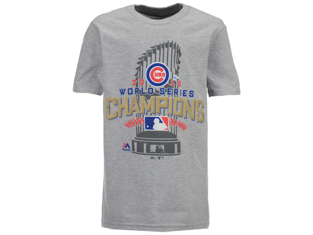 Chicago Cubs Majestic MLB Youth 2016 World Series Champ Locker Room ...