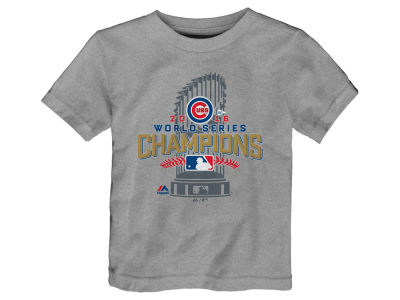 Chicago Cubs Majestic MLB Toddler 2016 World Series Champ Locker Room T-Shirt