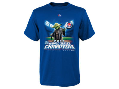Chicago Cubs Majestic MLB Youth Enduring Champions Star Wars T-Shirt