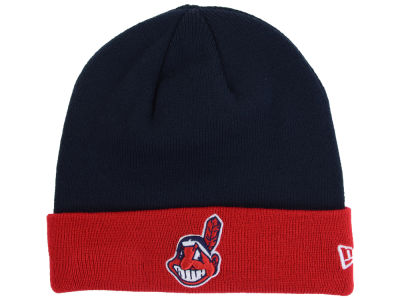 Cleveland Indians New Era MLB Fly Cuff Knit