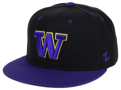Washington Huskies Zephyr NCAA Slider Fitted Cap
