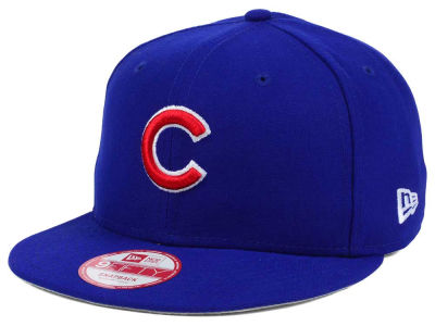 Chicago Cubs New Era MLB Baycik 9FIFTY Snapback Cap