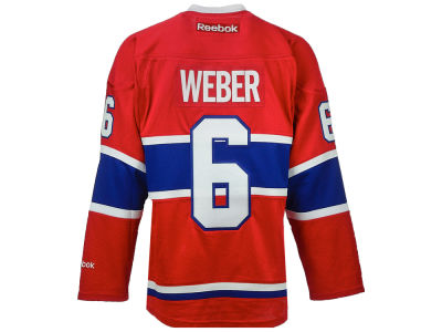 Montreal Canadiens Shea Weber Reebok NHL Premier Player Jersey
