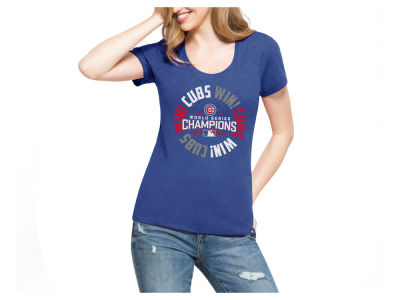 Chicago Cubs MLB Women's 2016 World Series Champ Circle T-Shirt