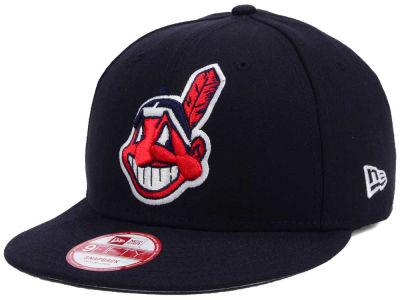 Cleveland Indians New Era MLB Baycik 9FIFTY Snapback Cap
