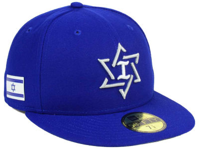 Israel New Era World Baseball Classic 59FIFTY Cap
