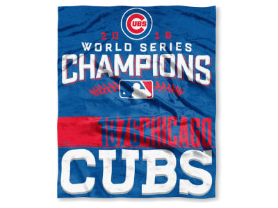Chicago Cubs Event Plush Throw 50x60