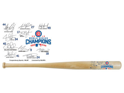 "Chicago Cubs World Series 18"" Autograph Bat"