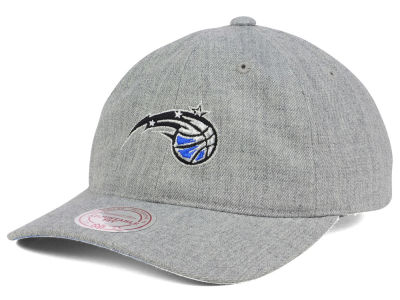 Orlando Magic Mitchell and Ness NBA Heather Grey Dad Hat