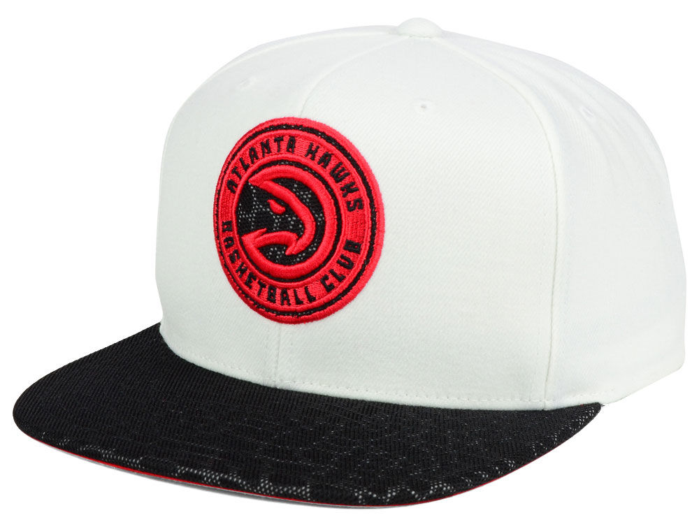 on sale 4e7af 0b7f1 ... promo code for atlanta hawks mitchell ness nba white reflect snapback  cap b2ace 14123
