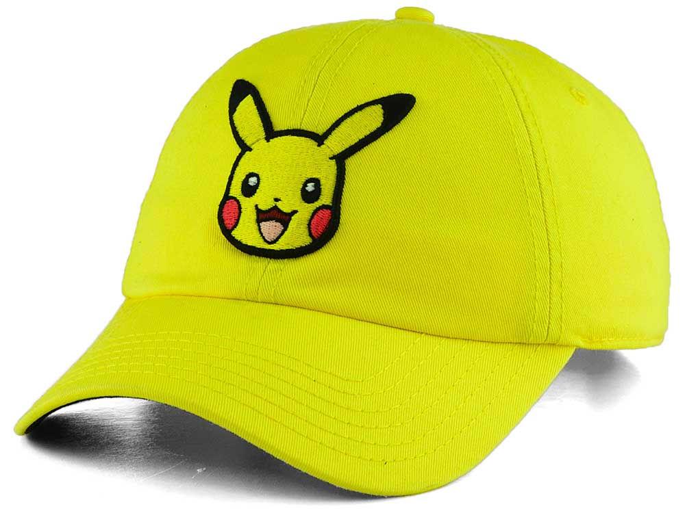 Pokemon Pika Dad Hat 2904baa0ce13