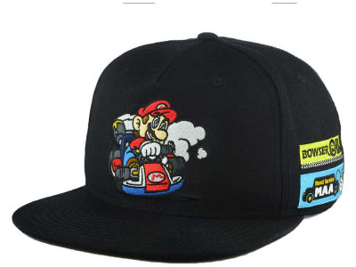 Nintendo Mario Cart Full Color Snapback Cap