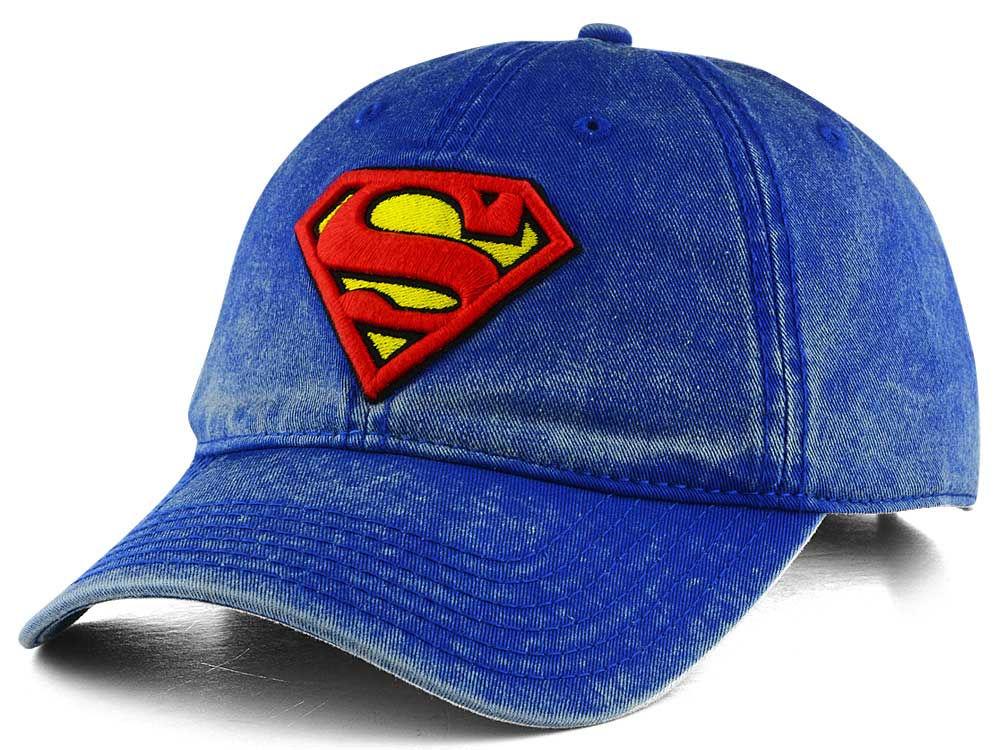 DC Comics Superman Washed Dad Hat  8c7249b79d2