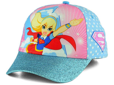 DC Comics Girls Super Glitter Bill Adjustable Cap