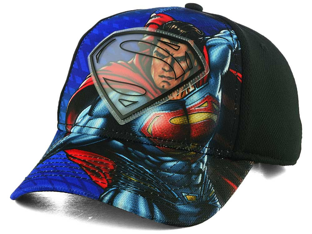 buy popular ddbba 7777e spain dc comics youth sublimated action cap 86f72 49cc6
