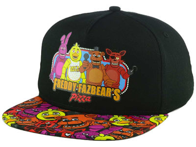 Five Nights at Freddy's Youth All Over Visor Print Snapback Cap