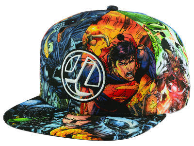 DC Comics Youth JL Sub Snapback Cap
