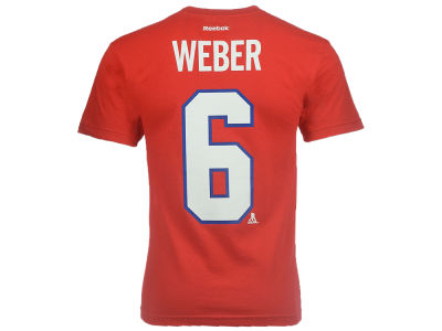 Montreal Canadiens Shea Weber Reebok NHL CN Youth Player T-Shirt