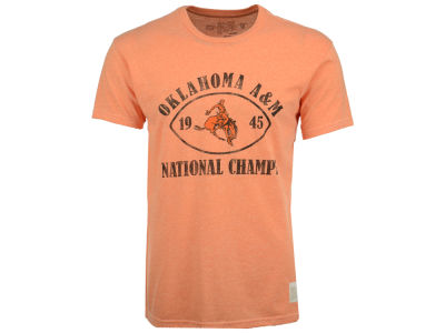 Oklahoma State Cowboys Retro Brand NCAA Men's 45 Football National Champ T-Shirt