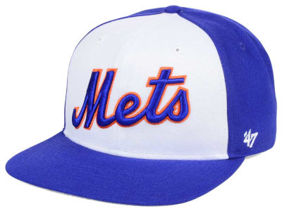 New York Mets '47 MLB '47 Script Side Snapback Cap