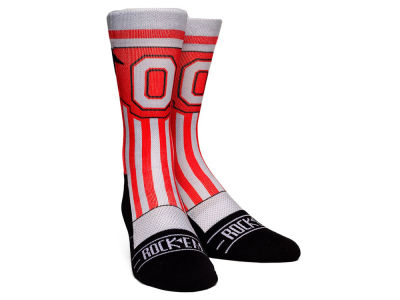 Ohio State Buckeyes Rock 'Em Jersey Series Mesh Socks