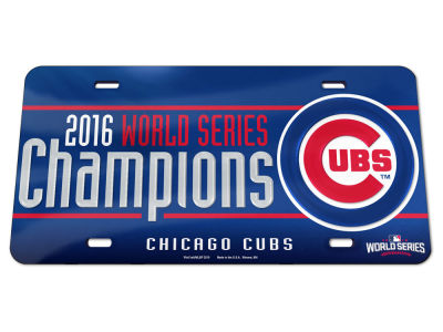 Chicago Cubs Event Inlaid License Frame
