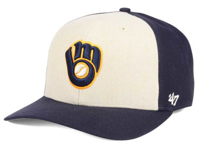 Milwaukee Brewers '47 MLB Inductor '47 MVP Cap
