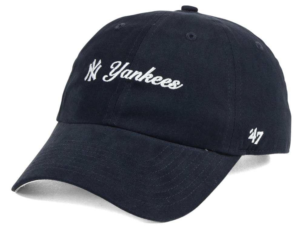 New York Yankees  47 MLB Women s Cohasset  47 MVP Cap  a4140f1c9